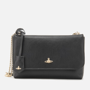 Vivienne Westwood Women's Balmoral Large Flap Bag - Black