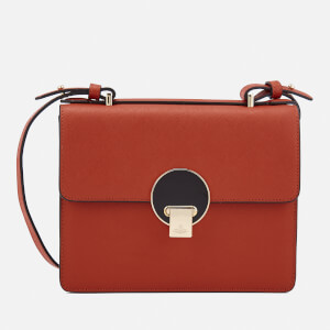 Vivienne Westwood Women's Opio Saffiano Small Shoulder Bag - Orange