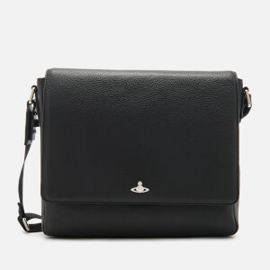 Vivienne Westwood Men's Milano Messenger Bag - Black