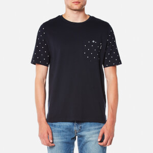 PS by Paul Smith Men's Oversized Fit T-Shirt - Navy