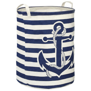 Fifty Five South Anchor Laundry Bag - Navy/Natural
