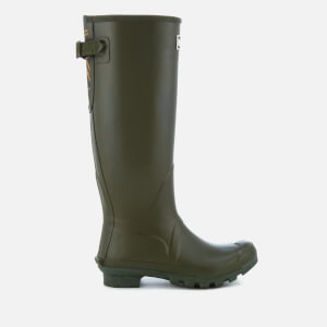 Barbour Women's Jarrow Adjustable Tall Wellies - Dark Olive