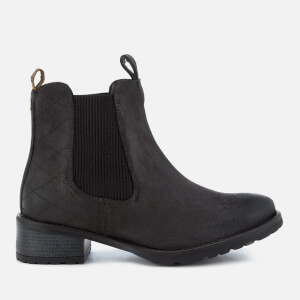 Barbour Women's Latimer Waxy Suede Chelsea Boots - Black
