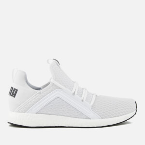 Puma Men's Mega NRGY Running Trainers - White/Black