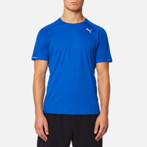 Puma Men's Core-Run Short Sleeve T-Shirt - Lapis Blue