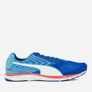 Puma Men's Speed 100 Ignite Running Trainers - Lapis Blue/Turquoise/Puma White