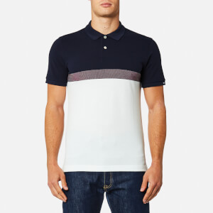 GANT Men's Tech Prep Pique Rugger Polo Shirt - Evening Blue