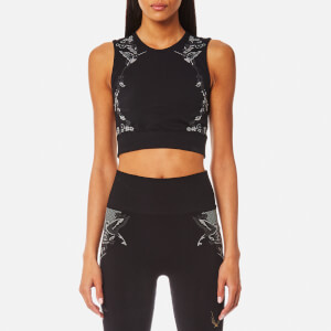 Lucas Hugh Women's Hummingbird Crop Top - Black
