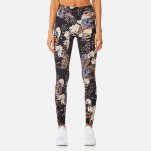 Lucas Hugh Women's Erte Leggings - Black Print