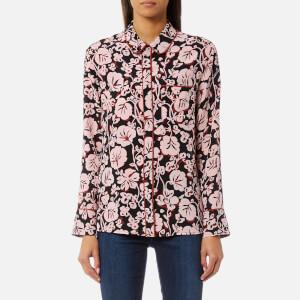 KENZO Women's Pyjama Silk Shirt - Faded Pink