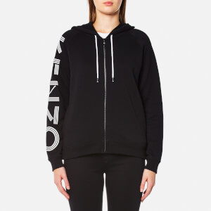 KENZO Women's Light Brushed Molleton Hoody - Black