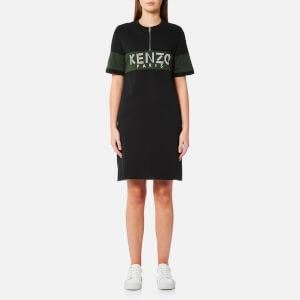 KENZO Women's Sport Zipped Dress - Black