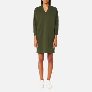 KENZO Women's Robe Sweatshirt Dress - Dark Khaki