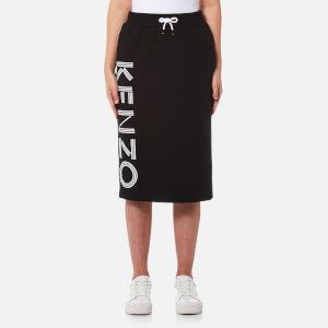 KENZO Women's Midi Jog Skirt - Black
