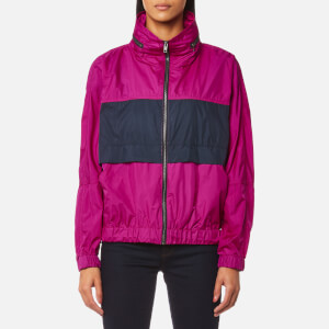 KENZO Women's Light Nylon Jacket - Deep Fuchsia