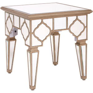 Medina Mirrored Side Table