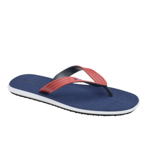 Dunlop Men's Toe Post Flip Flops - Navy