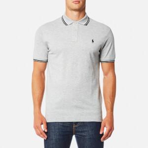 Polo Ralph Lauren Men's Tip Mesh Polo Shirt - Grey