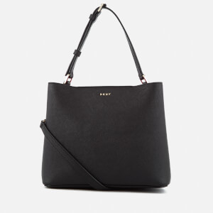 DKNY Women's Bryant Park Small Bucket Bag - Black