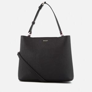 DKNY Women's Bryant Park Small Bucket Bag - Black