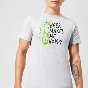 Beershield Beer Makes Me Hoppy Men's T-Shirt