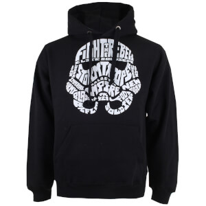 Star Wars Men's Stormtrooper Text Hoody - Black