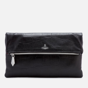 Vivienne Westwood Women's Canterbury Zip Clutch Bag - Black