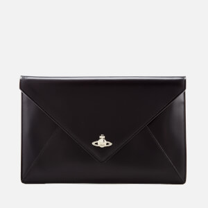 Vivienne Westwood Women's Private Envelope Clutch Bag - Black/Black