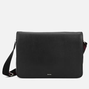 Paul Smith Men's City Webbing Messenger Bag - Black