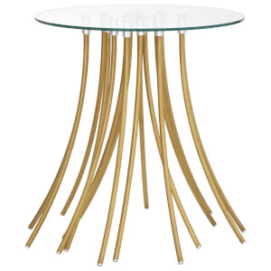 Fifty Five South Kensington Townhouse Side Table - Gold Finish