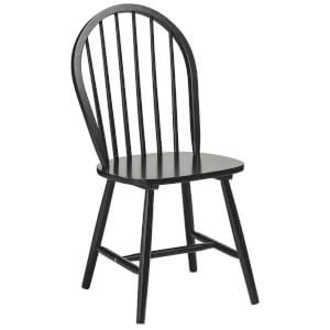 Fifty Five South Vermont Boston Chair - Matt Black Wood