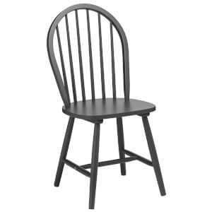 Fifty Five South Vermont Boston Chair - Dark Grey Wood