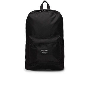 Jack & Jones Men's Basic Backpack - Black