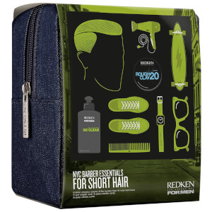 Redken For Men Kit Buzz Cut – Barber Essentials Kit (kort hår på menn)