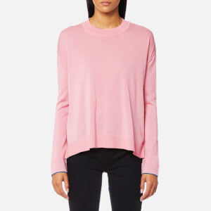 PS by Paul Smith Women's Oversized Crew Neck Jumper - Pink