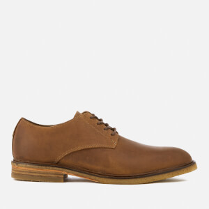 Clarks Men's Clarkdale Moon Leather Derby Shoes - Dark Tan