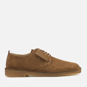 Clarks Originals Men's Desert London Derby Shoes - Cola Suede