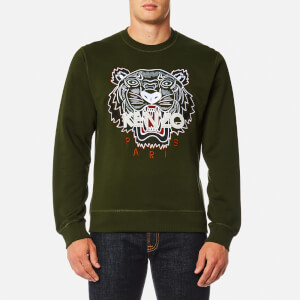 KENZO Men's Classic Icon Sweatshirt - Dark Khaki
