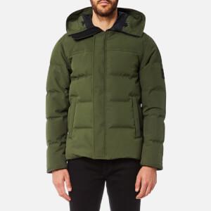 KENZO Men's Puffa Jacket - Dark Khaki