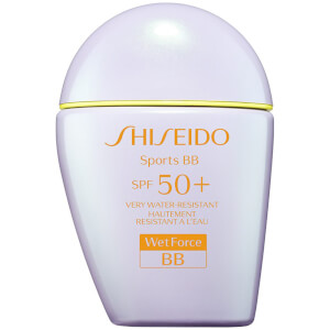 BB Cream Suncare Sports com FPS 50+ da Shiseido 30 ml (Vários tons)