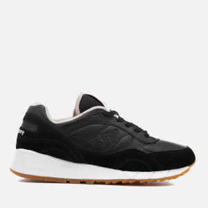 Saucony Men's Premium Shadow 6000 HT/Perf Trainers - Black/Tan