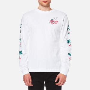 Billionaire Boys Club Men's Paradise Print Long Sleeve T-Shirt - White