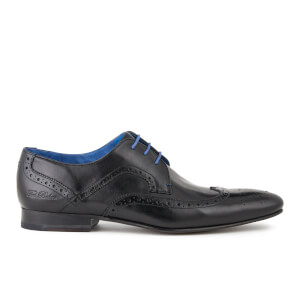 Ted Baker Men's Oakke Leather Brogue Derby Shoes - Black
