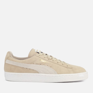 Puma Women's Suede Classic Trainers - Safari/Puma White
