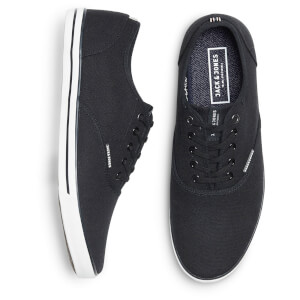 Chaussures Tennis en Toile Homme Scorpion Jack & Jones - Gris Anthracite: Image 3