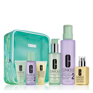 Clinique Jumbo 3-Step Set for Dry Skin Type 1 and 2
