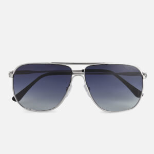 Tom Ford Men's Dominic Sunglasses - Silver
