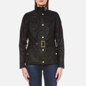 Barbour International Women's Abingdon Wax Jacket - Black