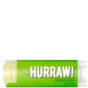 Hurraw! Balsamo labbra - menta