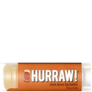 Бальзам для губ с ароматом корневого пива Hurraw! Root Beer Lip Balm